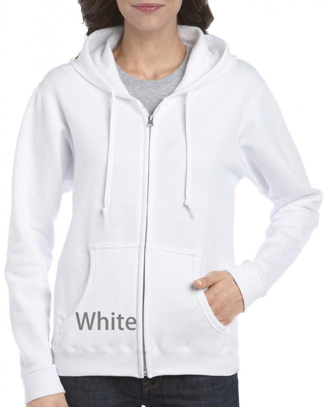 ca2838ac2d5 18600FL Gildan Heavy Blend Ladies  Full Zip Hooded Sweatshirt · Zoom