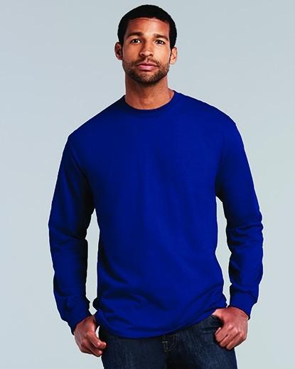 2400 Gildan Ultra Cotton Adult Long Sleeve T-Shirt
