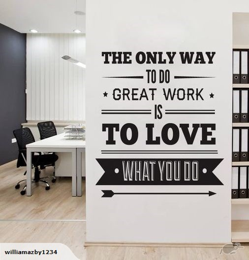 willdesign - great work office wall decal - featured products - web