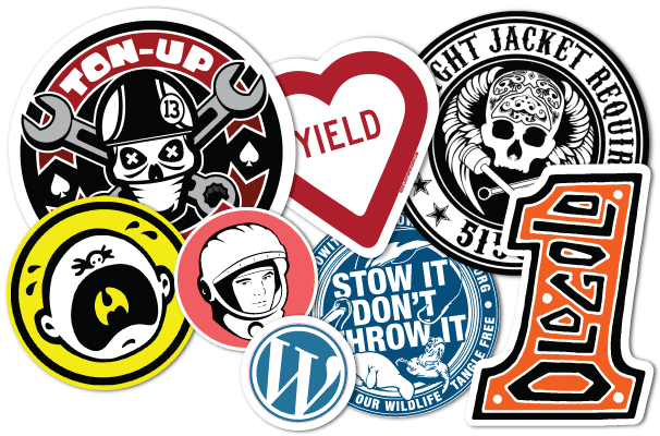 image about Printable Vinyl Stickers referred to as Custom made Vinyl Stickers Printing