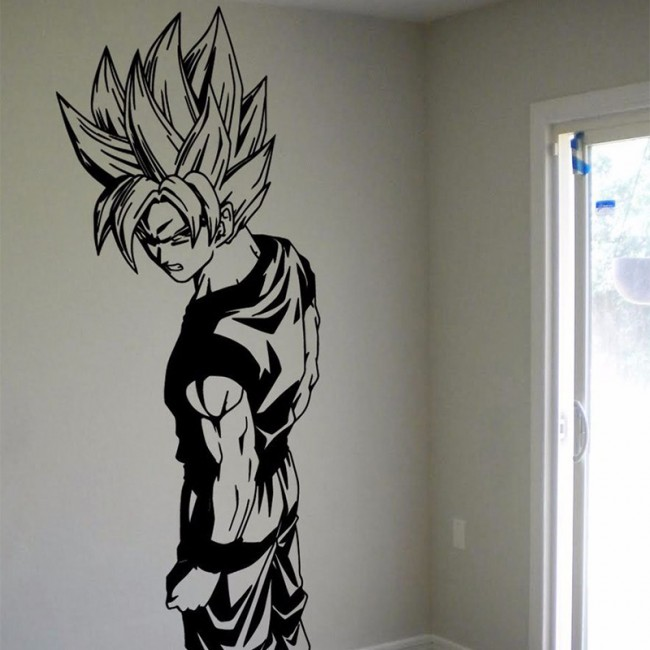 Dragon ball z wall decal