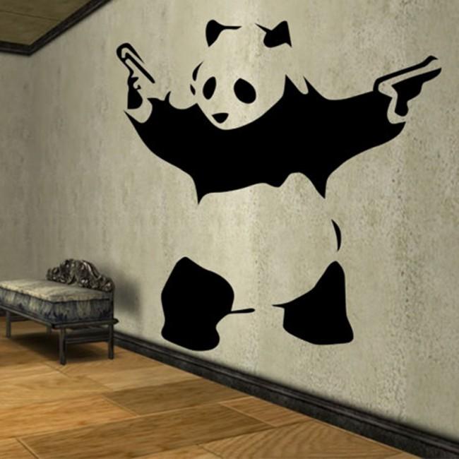Gong FU Panda wall decal