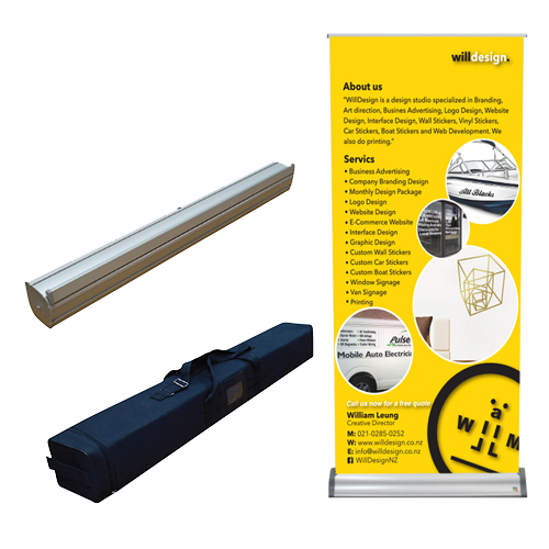 Premium Quality Roll Up Banner stand - Double Side Printing