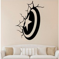 American Captain wall decal
