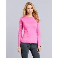 64400L Gildan Softstyle Ladies' Long Sleeve T-Shirt