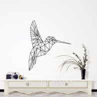 Geometric Birds Decorative Wall Art