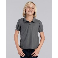 72800B Gildan DryBlend Youth Double Polo Shirt