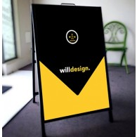 Sign A-Frames 600mm x 900mm-One Handle