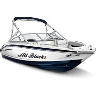 Custom size boat stickers