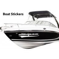 Special one week only !!! Boat name stickers