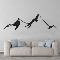 New Zealand Mountain wall decal