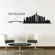 Auckland Skyline Wall Decal