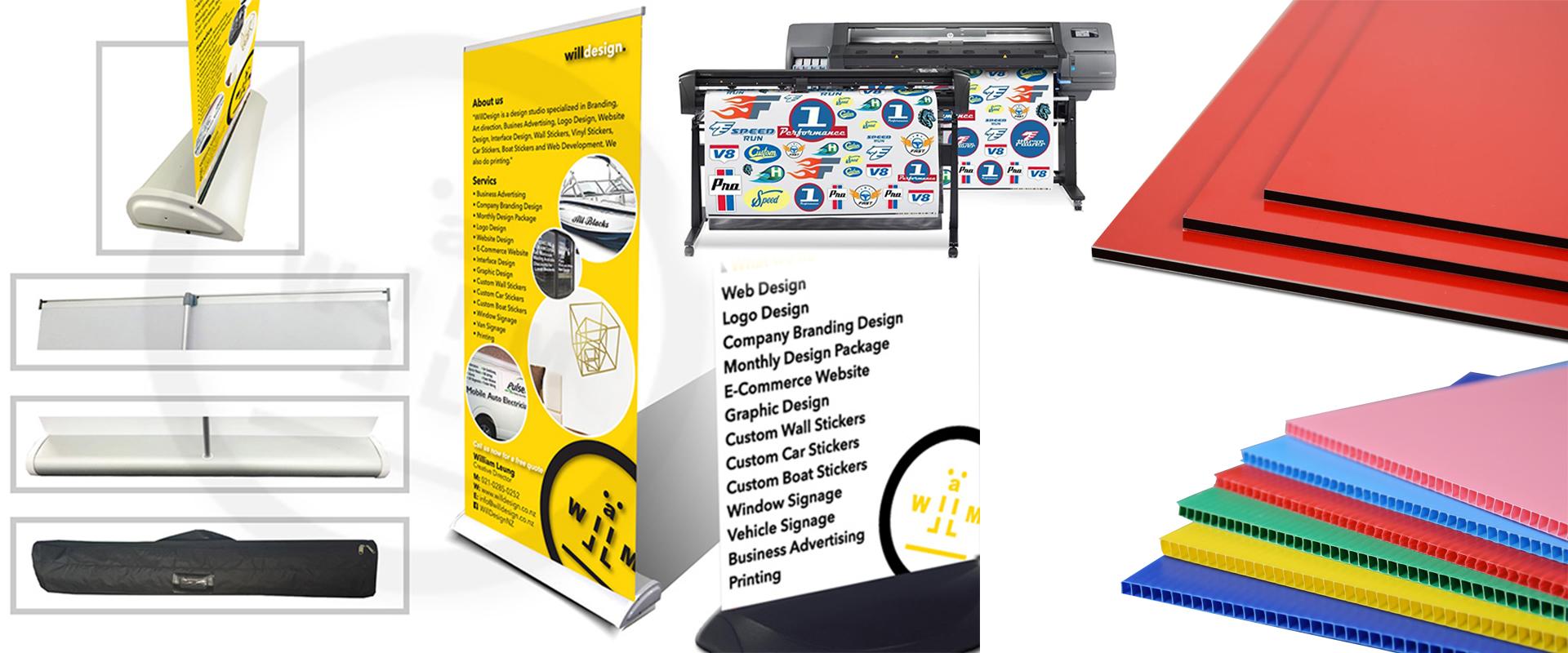 Signage - Signage - Web Design - Graphic Design - WillDesign
